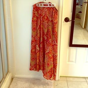 Beautiful silk skirt